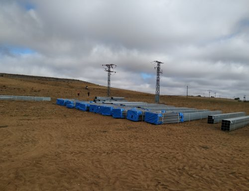 FV 1,2MW Fuentespreadas [Zamora]: Iniciamos los trabajos de cimentación