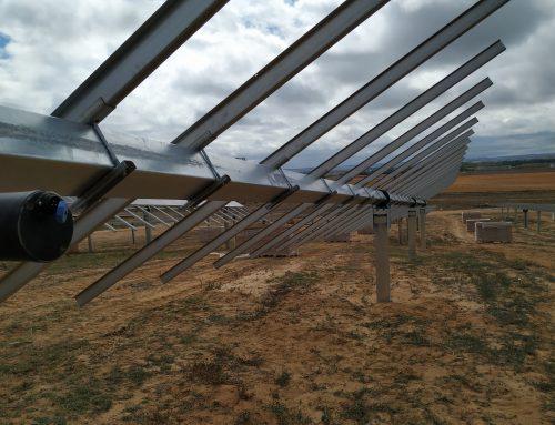 FV 1,2MW Los Vivales: Rematando estructura