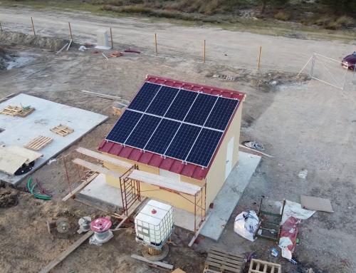 Autoconsumo fotovoltaico para obra FV El Viento de 3,66MW en Aguasal