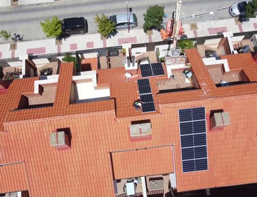 Autoconsumo fotovoltaico con compensación de excedentes en vivienda unifamiliar de Valladolid